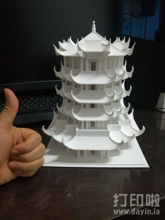 黄鹤楼-3d打印模型