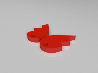 爱心-3d打印模型