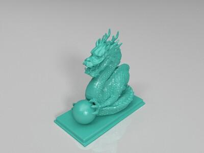 龙的摆件  打印出来效果非常好-3d打印模型