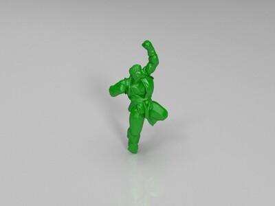 街霸隆 升龙拳-3d打印模型