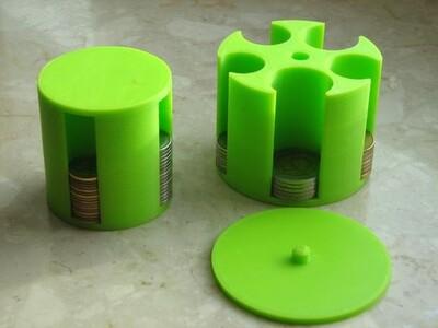 硬币夹-3d打印模型