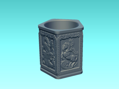 金碗-3d打印模型