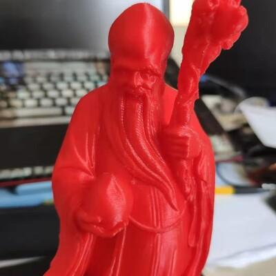 寿星-3d打印模型