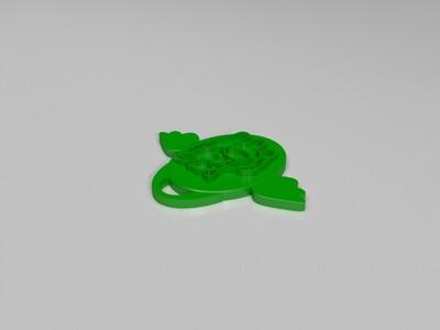 十二生肖吊坠——马-3d打印模型