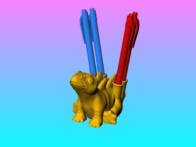 剑龙笔座-3d打印模型