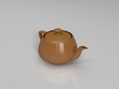 茶壶-3d打印模型