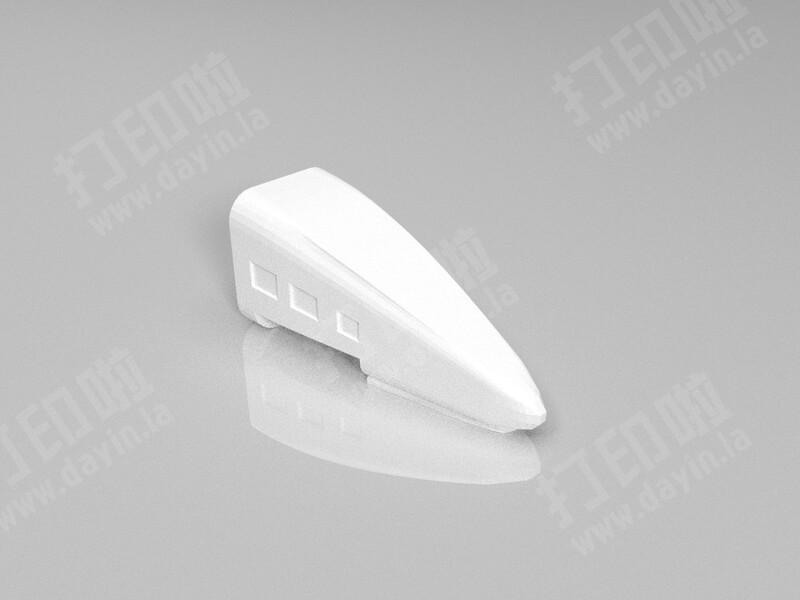 动车笔筒-3d打印模型