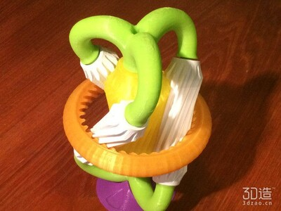 行星齿轮-3d打印模型