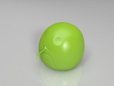 新Q版十二生肖&蛇-3d打印模型
