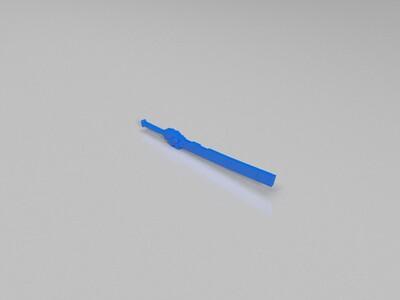 崩坏3 磁暴斩-3d打印模型