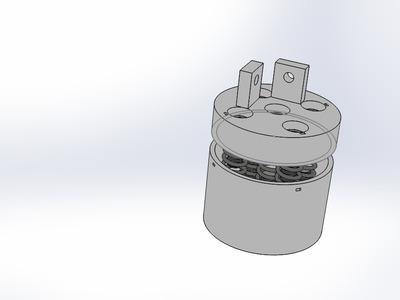 3D打印机 弹簧减震-3d打印模型