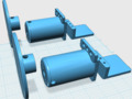 3D打印機 材料支架-3d打印模型