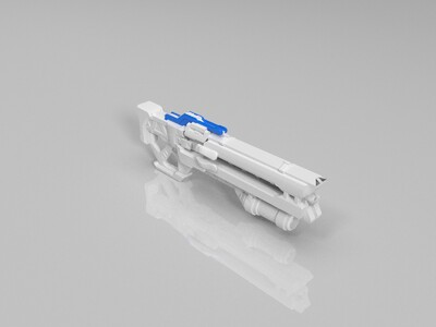 守望先锋76武器模型-3d打印模型
