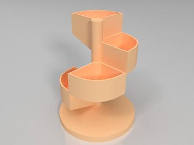 多肉花盆-3d打印模型