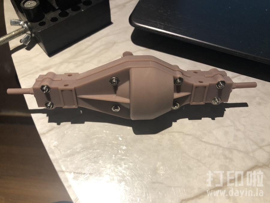 田宫拖头差速器-3d打印模型