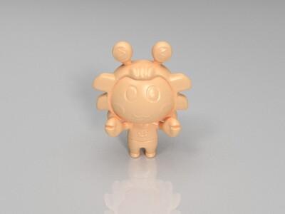 新十二星座(巨蟹座)-3d打印模型