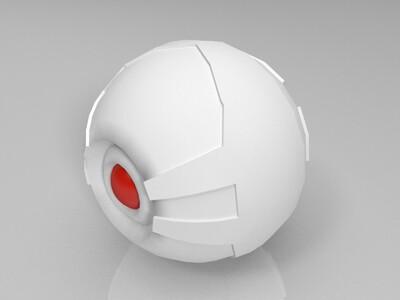 终结者  眼睛-3d打印模型