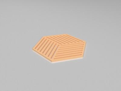 杯垫-3d打印模型