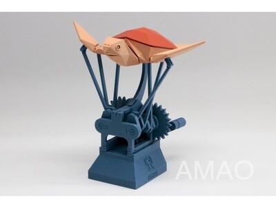 飞翔的海龟-3d打印模型