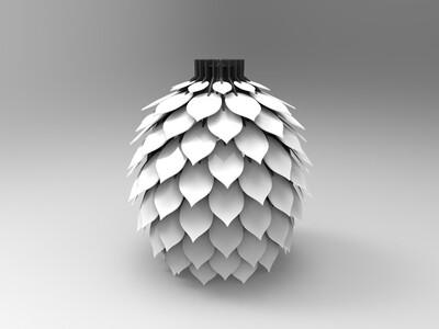 拼接灯罩-亦可-3d打印模型