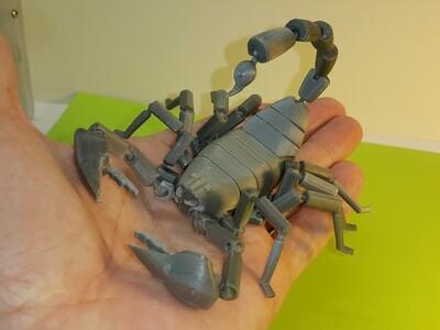 蝎子-3d打印模型