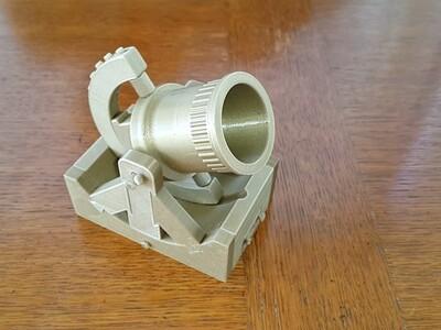 炮-3d打印模型