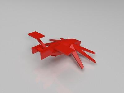 飞船-3d打印模型