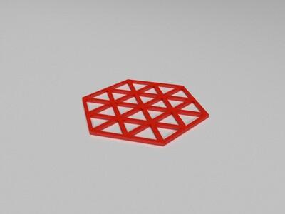 盘垫-3d打印模型