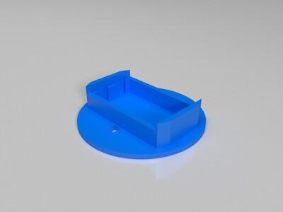 简易5号电池盒-3d打印模型