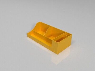 教室用多功能粉笔盒-3d打印模型