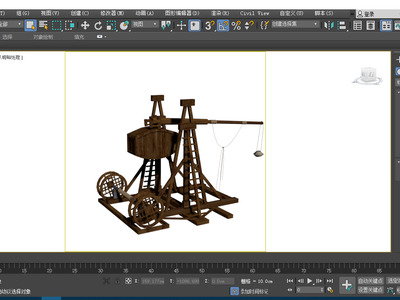 投石机-3d打印模型