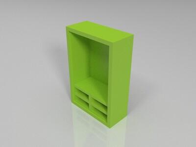 微缩模型-衣柜-3d打印模型