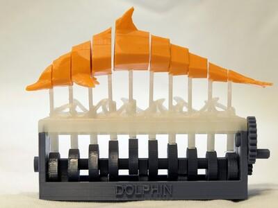 机械海豚-3d打印模型