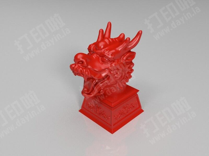 龙头-3d打印模型