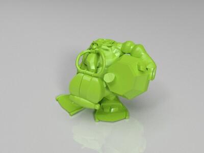 英雄联盟-酒桶-3d打印模型