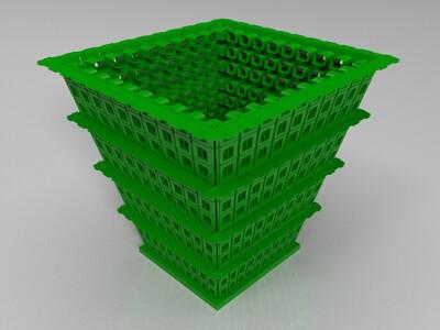 楼框-3d打印模型