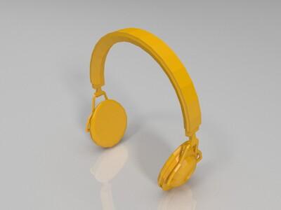 耳麦-3d打印模型