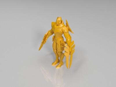 英雄联盟-源计划劫-3d打印模型