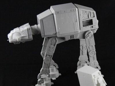 星球大战四脚战车-3d打印模型