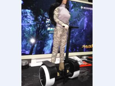 1:6兵人载具平衡车-3d打印模型