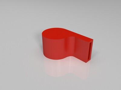 口哨可以直接吹响-3d打印模型