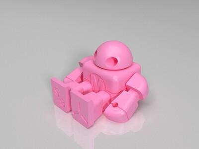 可以活动的机器人-3d打印模型