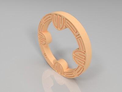 艺术挂件-3d打印模型