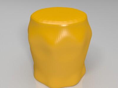 小酒杯 笔筒-3d打印模型