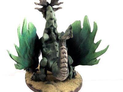 林中之龙 -3d打印模型