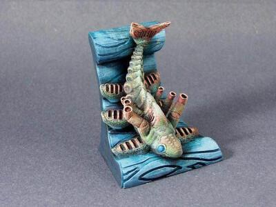 怪物鱼-3d打印模型