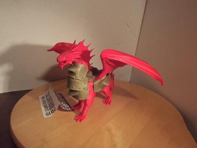 装甲红龙-3d打印模型