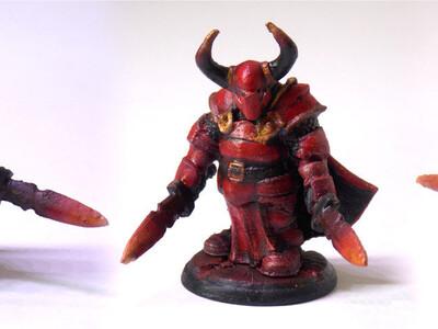 牛魔骑士-3d打印模型