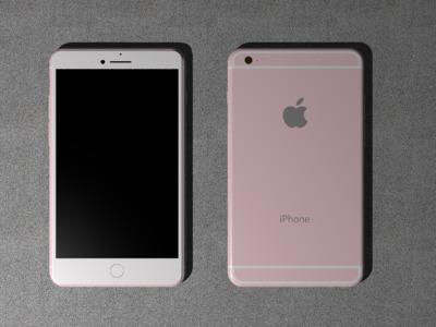 iphone6 plus-3d打印模型