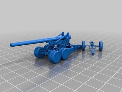 火炮-3d打印模型